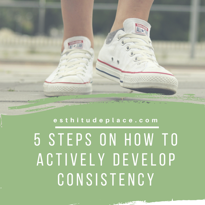 develop consistency